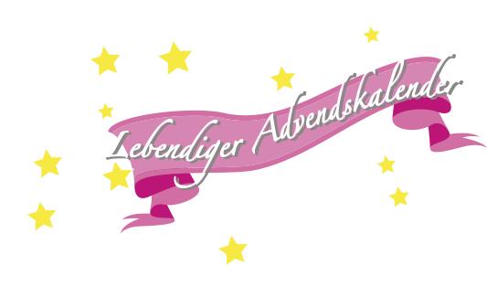 Lebendiger Adventskalender Banner