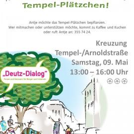 """Kaffee und Kuchen am """"Tempelplätzchen"""""""
